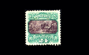 US-Stamp-Mint-Original-Gum-Hinged-XF-S-120-Very-large-margins-exceptional-sta