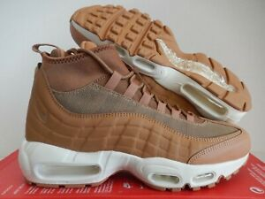 6fd05806f5 NIKE AIR MAX 95 SNEAKERBOOT FLAX-FLAX-ALE BROWN-SAIL SZ 8.5 [806809 ...
