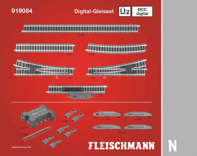 Fleischmann N 919084 DCC digital, Gleisset Ü2 Neuware