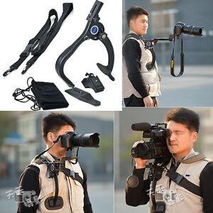 Camcorder-Video-DV-DSLR-SLR-Camera-Shoulder-Mount-Support-Stabilizer-Shockproof