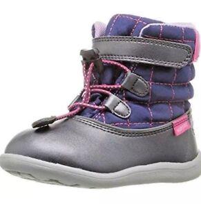 KAI RUN Abby Waterproof Boots in Navy