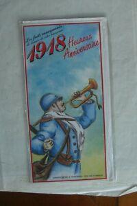 Humoristique Ancienne Carte Anniversaire Neuve Avec Enveloppe Année De Naissance 1918 Fixation Des Prix En Fonction De La Qualité Des Produits