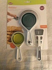 Chef-n-Sleekstor-Collapsible-Measuring-Cups-amp-Spoons
