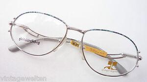 GroßZüGig Courrèges Exklusive Schmuck-brille Elegant Metallgestell Geschwungen Grösse M Spezieller Sommer Sale Kleidung & Accessoires