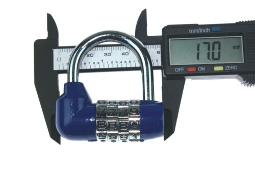 Dial Bicycle Password Combination Padlock Safety Lock 4 Digit 75mm