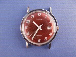 Ancienne montre mécanique Homme KELTON qui fonctionne