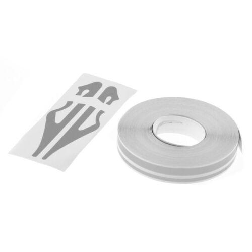 980c Striping Pin Stripe Steamline DOUBLE LINE Tape Car Body Decal Vinyl Sticker