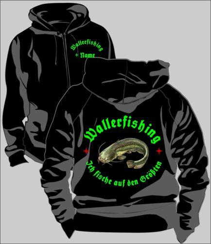 Anglerjacke Angler Jacke Kapuzenjacke Wallerfishing Welsangeln Wels Köder 77