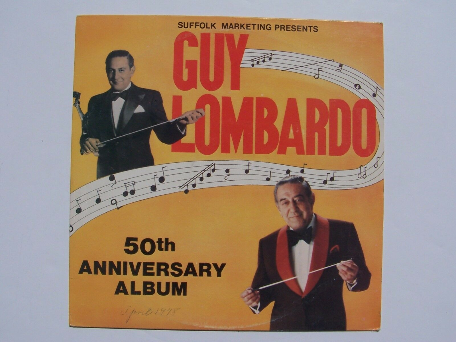 Guy Lombardo - 50th Anniversary Album Vinyl LP Record A