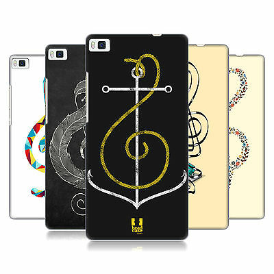 HEAD CASE DESIGNS G-CLEF ART HARD BACK CASE FOR HUAWEI PHONES 1