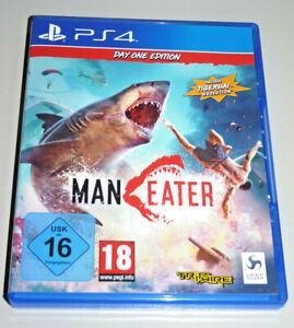 MAN EATER (Playstation 4) ps4 tedesco