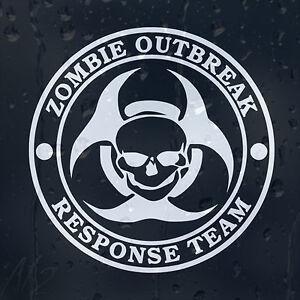 Zombie-Outbreak-Response-Team-Car-Windscreen-Body-Panel-Wall-Decal-Vinyl-Sticker