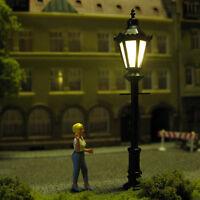 Parklaterne Parkleuchte Parklampe Straßenlampe mit LED Spur H0 S33