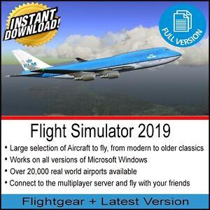 FLIGHT-SIMULATOR-2019-DELUXE-EDITION-X-FLIGHT-SIM-WINDOWS-GAME-10-8-7-PC-DVD