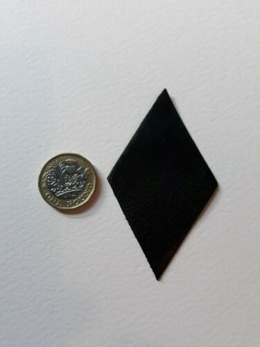 5 in pack Leather bellow corner diamonds for mending melodian or accordian