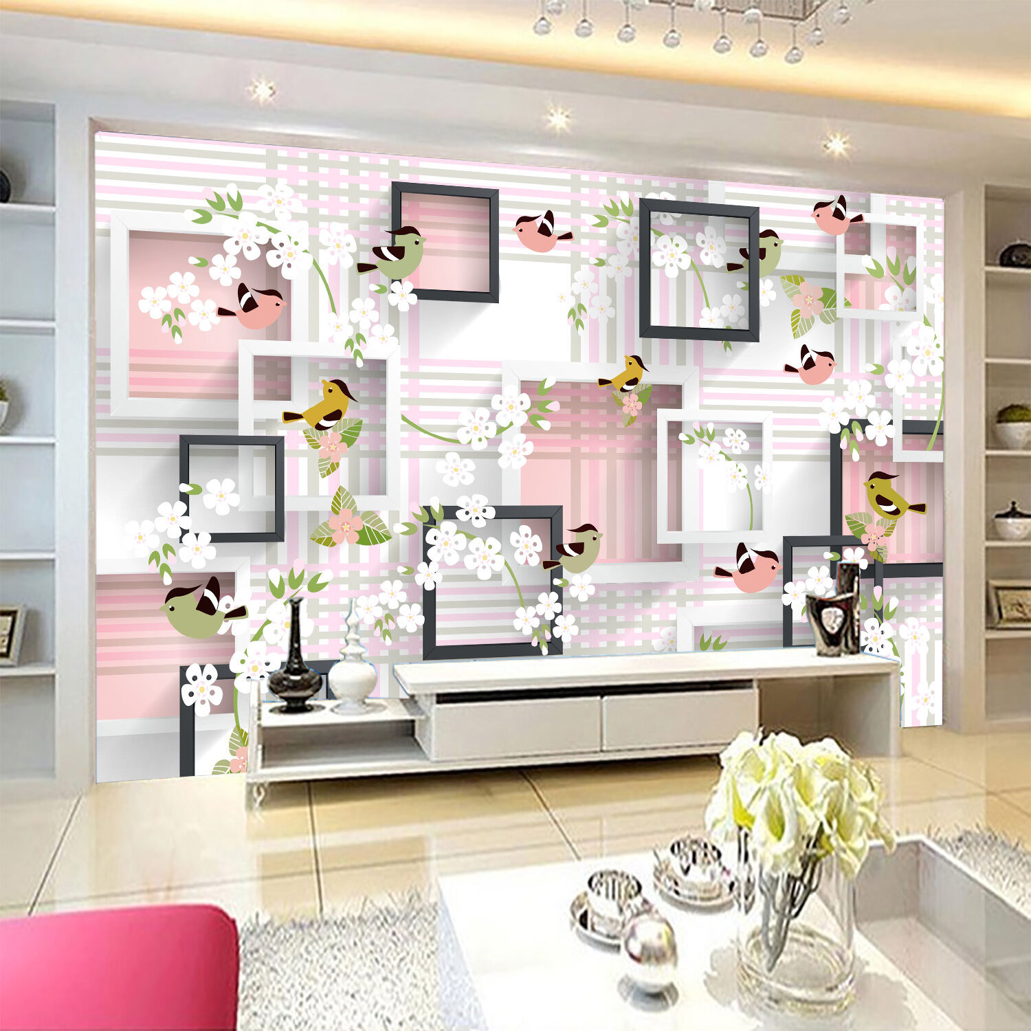 3D Pretty Pattern 365 Wall Paper Wall Print Decal Wall Deco Indoor AJ Wall Paper