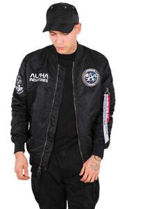 Veste Ma Alpha Bomber Rev Décontractée Moon Landing Industries 1 Homme SqIwtnEprI