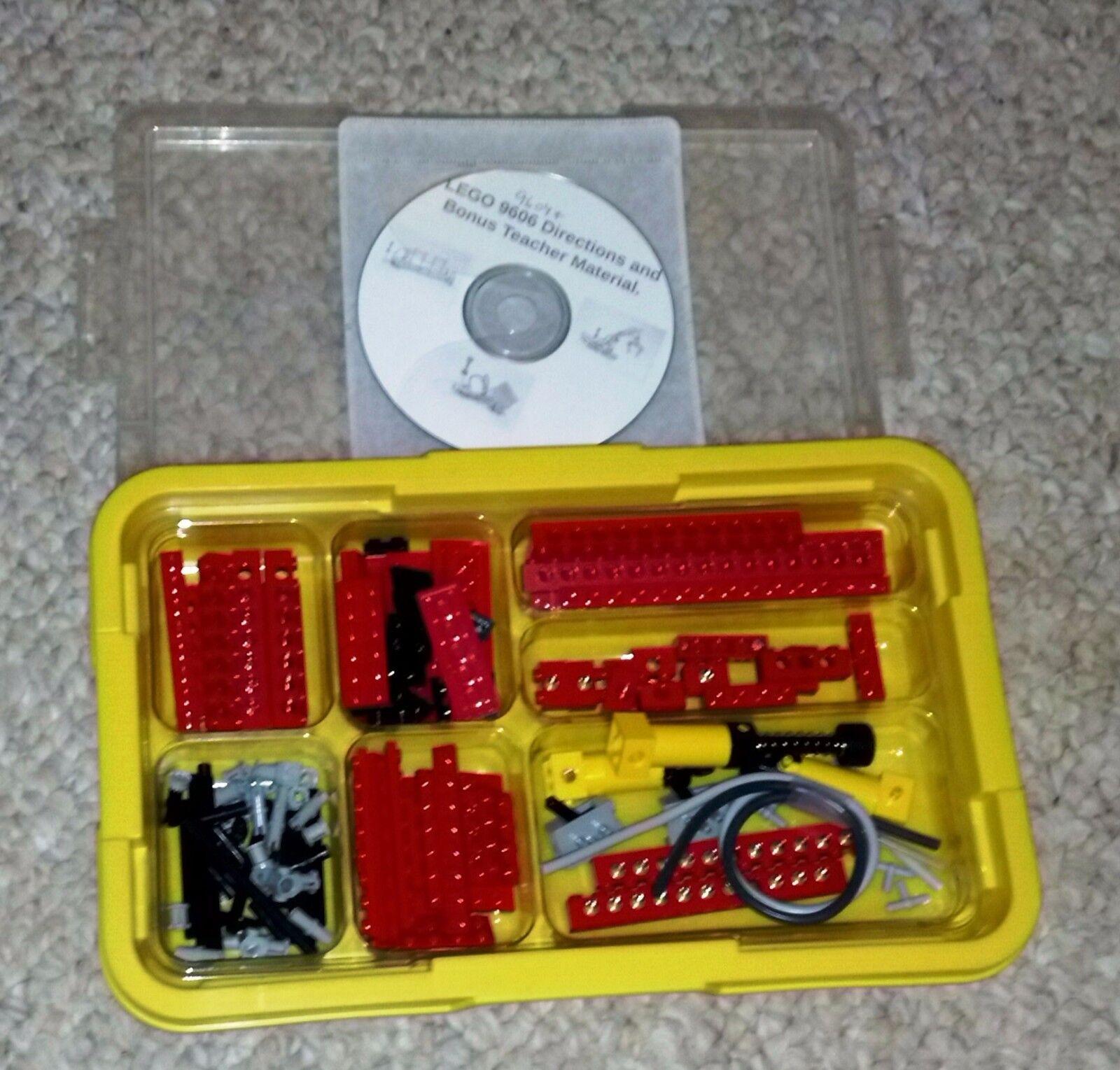 LEGO DACTA Technic Neumático Set con material de profesor de bonificación