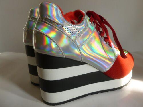 Sneakers Tg New Argentato 37 Size Multicolore Rosso 37 eu PddqB7p