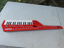 1980's Yamaha shs-10 vintage mini keytar keyboard synthesizer red works