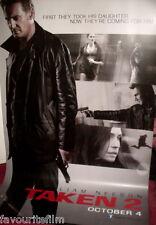 Cinema Banner: TAKEN 2 2012 (Main) Liam Neeson Famke Janssen Maggie Grace