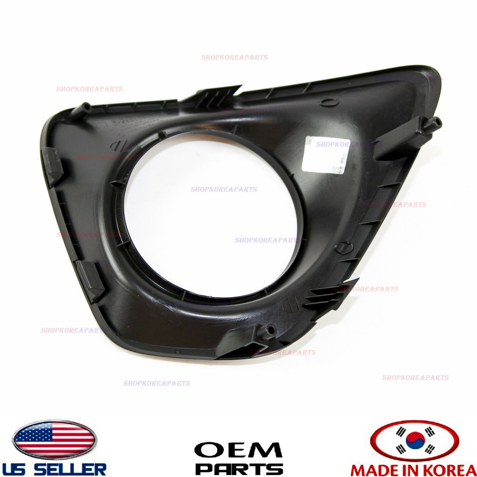 Rear Left Bumper Reflector Lamp Light Plastic Trim Bezel OEM For 13-16 Veloster