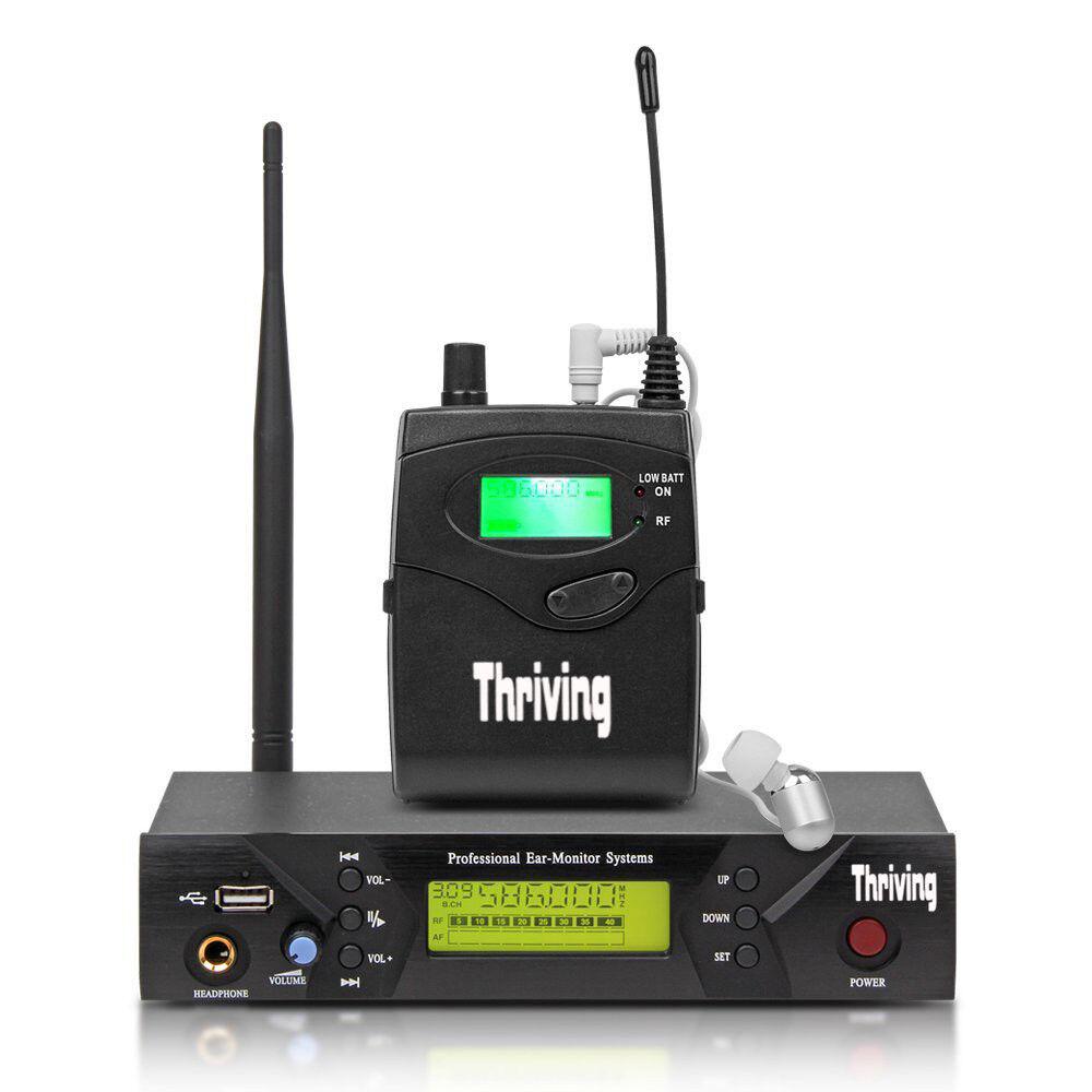 Professioneller MONO für das Stage Studio mit UHF Wireless In Ear Monitor System