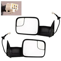 Power Heated Tow Mirror Fit For Dodge Ram 1500 2500 3500 1998-2002