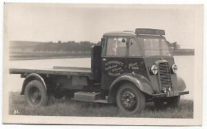 Commer-Flatbed-Truck-original-Postcard-H-Cockshott-Nelson-Ref-31