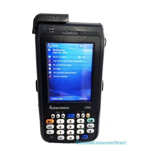 Intermec CN3 Mobile Computer Numeric 1D//2D CN3 WiFi Barcode Scanner with Handle