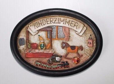 Dekoration Türschild Kinderzimmer Zimmerschild Oval Aromatischer Geschmack