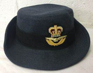 Image is loading WRAF-WOMENS-ROYAL-AIR-FORCE-OFFICERS-CAP-Size- 996246c0d