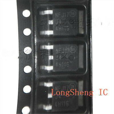 10pcs New MJD44H11T4G 44H11G SMD TO-252 power transistor pairing
