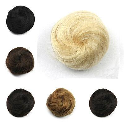 Synthetic Hair Roller Hairpieces Clip-In Chignons Bun Hair Chignon