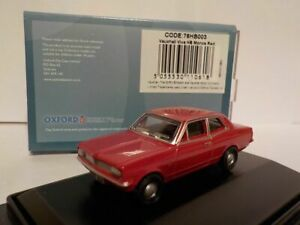 Model-Car-Vauxhall-Viva-Red-1-76-New