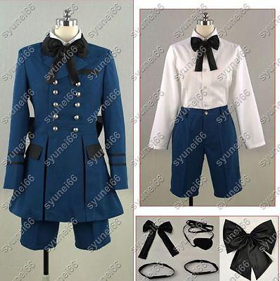 Black Butler II Ciel Cosplay Costume Custom Any Size