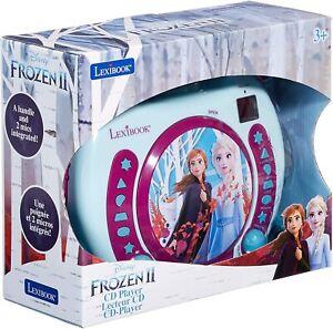 Lexibook Disney Frozen La Reine des Neiges Elsa Lecteur CD pour enfant