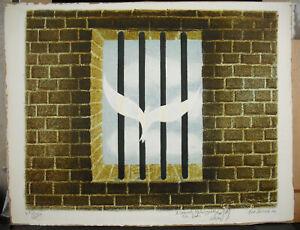 Allegorie-of-The-Liberte-1984-IN-Samuel-Kaluzynski-Signed-Fred-Zeller-1912-2003