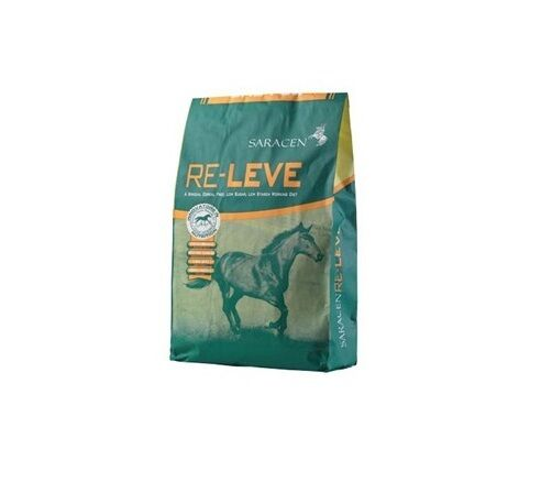 Sarazenen Re-Leve 20kg Cereal Free Low Sugar Horse Food Feed