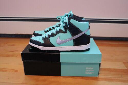 VNDS Sz.11 Nike SB Dunk High Premium Tiffany Diamo