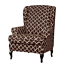 INSMA-Stretch-Wing-Chair-Cover-Slipcover-Wingback-Armchair-Furniture-D miniature 9