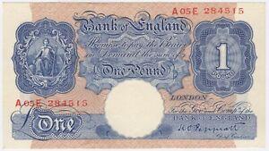 Banca-D-039-INGHILTERRA-ONE-POUND-nota-Crisp-pochi-centesimi-2-LIBBRE