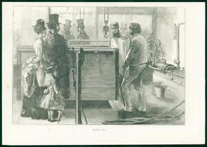 1874-Antique-Print-MANUFACTURE-Ice-Makers-Workers-60