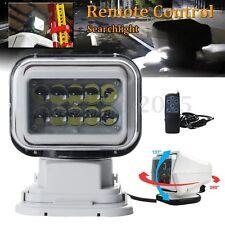 360° 50W LED Marine Boat Truck Car Remote Control Wireless Spotlight Searchlight
