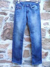 DIESEL PANTALON JEAN JEANS POUR HOMME W29 L34 BLEU DELAVE Taille 78   80 cm adc9b683a90e