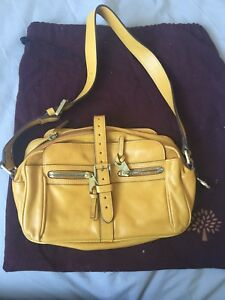 a5b5bbb2416 ... low cost image is loading authentic bright yellow mulberry bag good  condition real cdff3 5ca92 ...