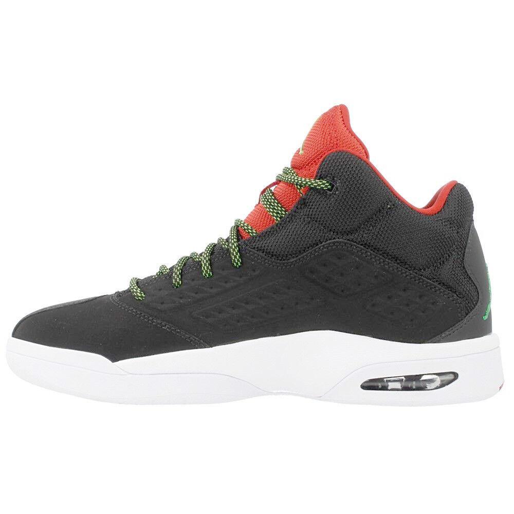 Jordan Shoes Men's New School Shoes Jordan NEW AUTHENTIC Black/Red/Green 768901-013 e1af3f