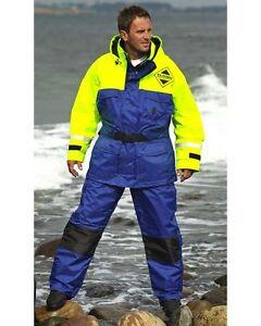fishing boating 2pc Fladen floatation flotation suit sailing immersion