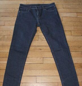 UNIQLO-Jeans-pour-Homme-W-32-L-34-Taille-Fr-42-Ref-L093