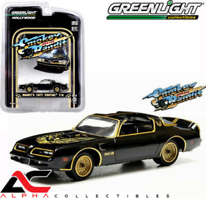 GREENLIGHT-44710-A-1-64-1977-PONTIAC-TRANS-AM-SMOKEY-AND-THE-BANDIT